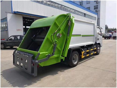 东风4立方压缩垃圾车