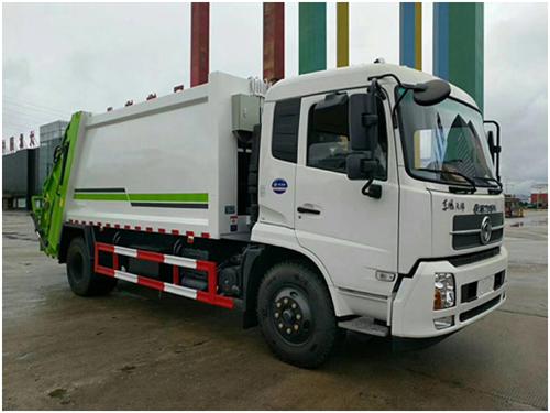 天锦12立方压缩式垃圾车
